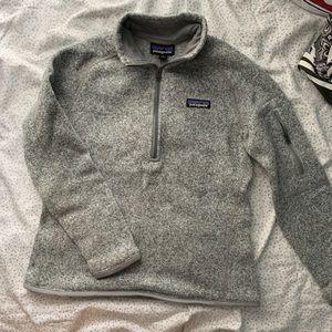 Grey Patagonia Better Sweater